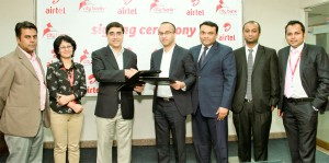 Photo_Airtel signs agreement with City bank