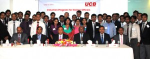 UCBL conducts Trainee Officer Induction Program 2013 Pic