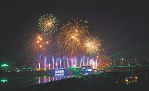 Controversy over 10000mw but light-festival celebrated at Hateerjheel
