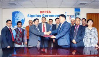 Chinese firm to build $22m textile plant in Ishwardi EPZ