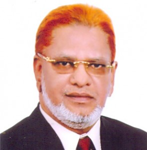 Alhaj Mohiuddin Ahmed, Chairman of Shahjalal Islami Bank Securities Ltd.
