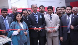 From Left-Mohua Rashid, Country Manager, ACCA and Professor Dr. A A M S Arefin Siddique, VC, University of Dhaka Inaugurating ACCA Fair 2014