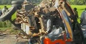 natore Bus collision