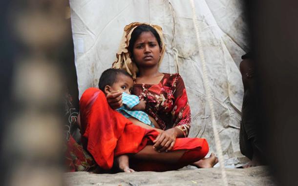 rohinga woman