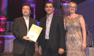 Photo 1 Huawei awarded _Biggest Contribution to 5G Development