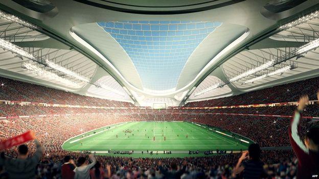 japan olympic stadium