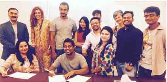 Redoan Rony MOU signing with Bagdoom