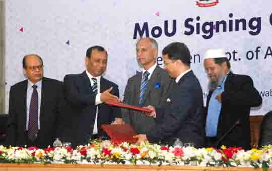 Signing Ceremony of DU & ICAB